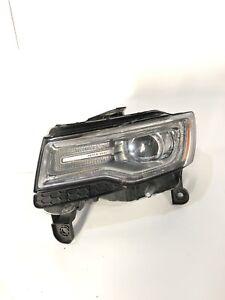 2014 - 2015 Jeep Grand Cherokee Headlamp Xenon Left Mopar Factory Oem Damaged