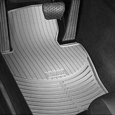 BMW Floormats E46 323i 325i Coupe Sedan Grey Rubber Weather Front 1999-2005 OEM