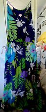 Stunning Per Una Summer/Wedding/Cocktail Maxi dress size 14 Long Fully Lined