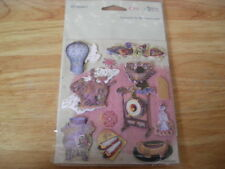 1 Pack Crafty Bits of 3D Stickers. 'Pretty Thinkgs' (B162)