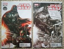 Star Wars #1 variant cover set (colour and sketch), Marvel, Deodato, 2015