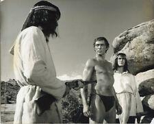 Captain Apache original 8x10 photo Lee Van Cleef bare chest caption on verso