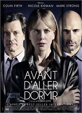 Affiche 40x60cm AVANT D'ALLER DORMIR 2014 Nicole Kidman, Colin Firth NEUVE