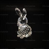 RARE Retired Swarovski Crystal Rabbit Mother 014850 Mint Boxed
