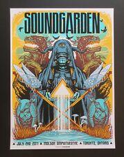 SOUNDGARDEN 2011 TORONTO SILKSCREEN CONCERT POSTER Art By MUNK ONE