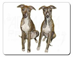 Whippet Dogs Computer Mouse Mat Christmas Gift Idea, AD-WH91M