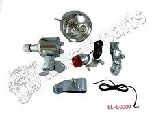 Bicycle Motorized Bike Friction generator Dynamo Headlight Tail Light 12V 6W new