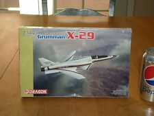 USA, GRUMMAN X-29, JET FIGHTER PLANE, Plastic Model Kit, Scale 1/444