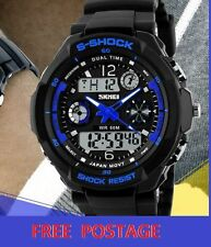 Sport Unisex 50 m (5 ATM) Watches with 24-Hour Dial