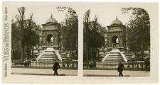 Stereo, France, Paris, fontaine des Innocents Vintage stereo card -  Tirage ar
