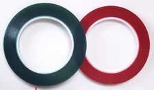 "Archival Red/ Green 1/4""x215' hold down tape for securing 1/4"" reel to reel tape"