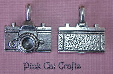 5 x Tibetan Silver CAMERA VINTAGE STYLE PHOTOGRAPHY 3D Charms Pendants Beads