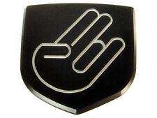 Dodge Neon SRT 4 SRT4 Custom Front Emblem Badge - Black Shocker