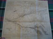 1700s Lake Ontario Canada New York Vermont Map