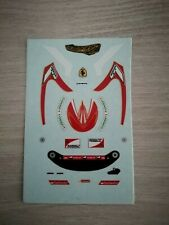 Decals casque helmet Raikkonen 2014 1.18 Ferrari