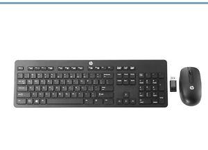 HP N3R88AT USB Wireless Keyboard & Mouse Set (N3R88AT#ABU)
