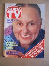 GUIDA TV n°29 1979  Copertina  AVE NINCHI [G435]