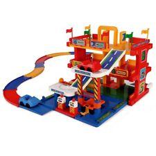 WADER Auto Parkgarage Spielstraße Parkhaus mit Aufzug 3 Ebenen Spielzeugauto