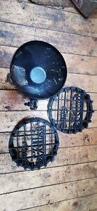 WIPAC 4X4 SPOT LAMP FOG LAMP OFF ROAD Land Rover covers and back bowl only