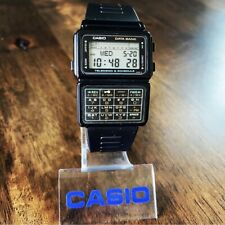CLEAN Vintage 1985 Casio DBC-60 Data Bank Calculator Watch Made in Japan Mod 563