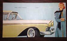 1957 Ford Fairline & Fairline 500 Brochure 10761-ZDVVYK