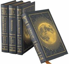 Easton Press DARK SIDE OF THE MOON - 4 Volume Clarke, Heinlein, McDevitt SEALED