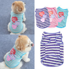 Amabile Cucciolo Piccolo Cane Gatto Animali Vestiti Abito Canottiera Maglietta