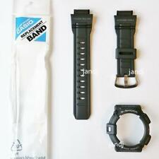 ORIGINAL CASIO G-SHOCK BAND & BEZEL for G9300-1 G-9300-1, BLACK, MATTE