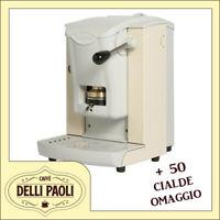 faber slot plast macchina da caffe in cialde ese 44 mm avorio +50 cialde omaggio