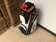 Mint 2021 Callaway Org 14 Cart Bag / White Black Red / With Rain Cover