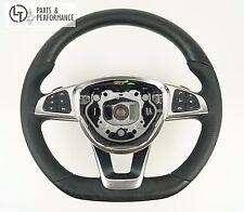 Esche Offenporig Holz Lenkrad für Mercedes-Benz AMG W205 W218 C190 W222 W217**