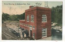 Power House #3 SHELBURNE FALLS MA Vintage Massachusetts Postcard