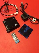Sony MZM200 Professional Portable Hi MD Recorder(MZ-M200) & 1GB Mini Disc TESTED