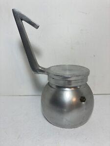 Vintage Aluminum Stovetop Espresso Coffee Maker 12 Oz.