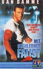 VHS Kassette Video - Mit stählerner Faust - Van Damme - sein bester Film