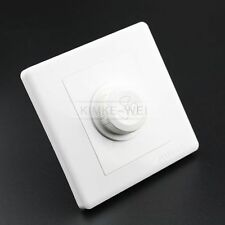 Ceiling Fan Speed Control Wall Knob Switch Panel AC 220V 10A / 15-100W / 86x86mm