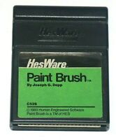Paint Brush Vintage Software Cartridge for Commodore 64 & 128 HES WARE (1983)