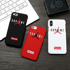 New Jordan Couple Case Cool Man Hard Cover For iPhone 6s 7 Plus 8 Plus X