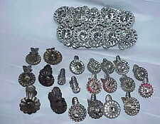 31 assorted antique & vintage Tin Metal Christmas Candle Holder Clips