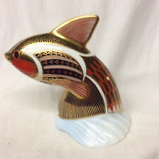 ROYAL CROWN DERBY IMARI PAPERWEIGHTS COLLECTION GUPPY TROPICAL FISH IN BOX