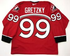 WAYNE GRETZKY NIKE 1998 NAGANO OLYMPICS TEAM CANADA RED JERSEY SIZE LARGE