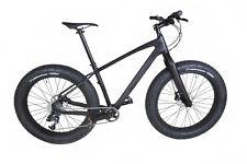 "21"" Full Carbon Fat Bike Frame Wheels Disc brake Snow Mountain bicycle 26er XL"