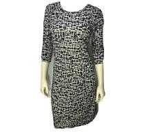 New! TRENDY SIZE Small UPSCALE FASHION SOFT CAREER OR CASUAL WOMENS GRAY DRESS
