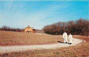 Vintage Tintern Monastery, Oakdale, Nebraska Postcard