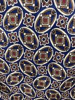 Giorgio Armani Cravatte Mens Silk Designer Necktie Italy Red Blue Beige Tie GUC