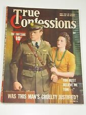 True Confessions Magazine May 1942 Very Good Condition-Excellent-Free Shipping!