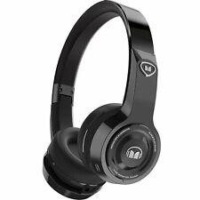 Monster Elements Wireless On-the-Ear Bluetooth DJ Headphones, Black