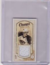 NIK ANTROPOV 09/10 CHAMPS CHAMP'S MINI THREADS JERSEY #MT-NA Card Game-Used