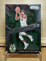 2020-21 Panini Prizm Dominance Giannis Antetokounmpo #7 Milwaukee Bucks MVP 🔥🔥