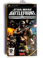 Star Wars Battlefront Renegade Squadron para la Sony PSP en buen estado